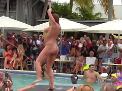 Wet and Nude Pool Party Out Of Control p2