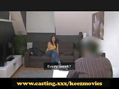 Casting - Intense audition sex leads to creampie