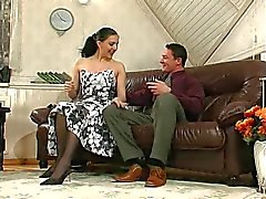 Brunette Russian Strapon Lady 4