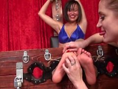 Asian Tickling 03