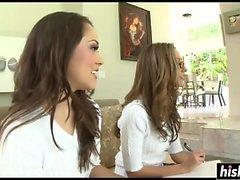 Jenna Haze et Kristina Rose se frappent