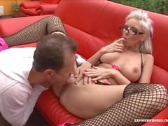 Blonde Milf Bombshell Alexis Page Gets Fucked With Huge Cock!!!