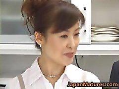 Hitomi Kurosaki Volwassen Aziatische chick part1