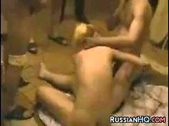 Russian Prostitute Fucked By Soldiers