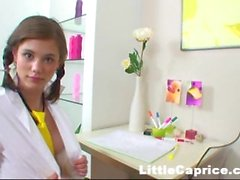 Little Caprice Solo Hot!.