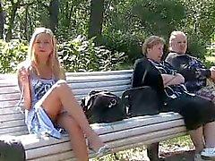 clignotant blond sur parc, les pls ajouter un commentaire