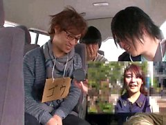 Hot Asian Chick Making Out In A Car
