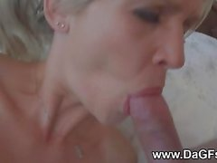 Remote anal creampie