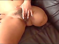 Very Hairy Mature Amputee Loves Cock