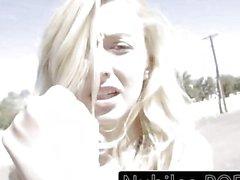 Tiny blonde caught in public gets creampie punishment