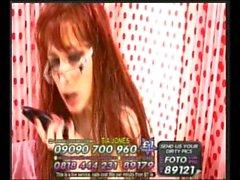 Tia Jones In Glasses On Live 960