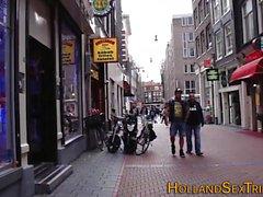 Dutch prossie tits jizzed