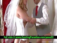 Kayla Paige herrlichem Braut realy schwer gefickt