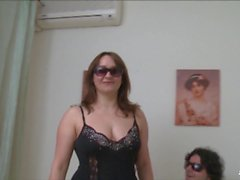 Scambisti Maturi - Mature Italian swingers Cristina and Franco hot 69