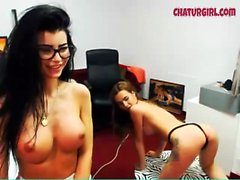 Two sexy girl on live webcam