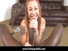 Interracial Pickups - Sexy babes fucked by big black cock 25