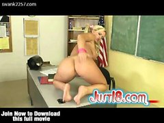 Bree Olson Teasing Her Teacher