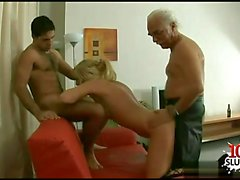 Young girl grinding orgasm