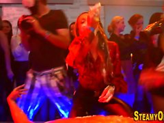 Cfnm party teenager blow