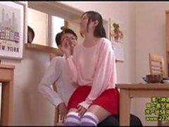 NHDTA-738 Min äldre StepSister sitter på mitt knä!