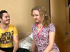 Lustfylld adorable tonåring borrad av hennes lärare