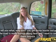 Fake Taxi Stunning Welsh MILF with hot body
