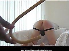 Mistress Mariam Порка тростью Демонстрационный восемь