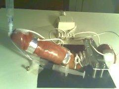 Milked in Bondage Electro Torture Board CBT-daddi
