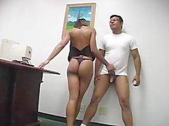 Brutal Femdom Ball Busting 03 - Scene 1