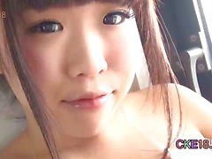 Cute Japanese Teen First Time