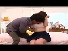 Doggystyle drilling for teen