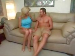 hot mom gets big fake tits