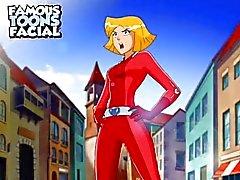 Totally Spies sarjakuva sex video