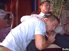 Excited brunette married guy Niko Reeves gets butt fucked by gay Rod Daily