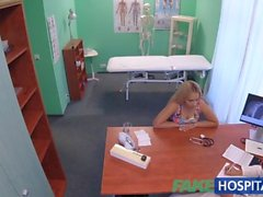 FakeHospital Buxom Russian babe swallows cumload