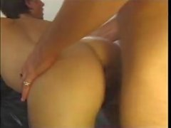Slutty british amateur analed in beige pantyhose