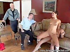 Hustrun vill New Sex vännen