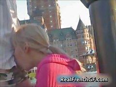 Hot nasty teen blonde slut sucking cock part4