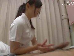 Infirmière du Japon te suce 2