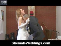 alessandra&tony just married shemale duo