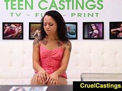 FetishNetwork Holly Hendrix first time bdsm casting