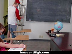 Pigtailed Schoolgirl Banged By Her Classmate