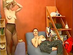 Russian MILF and guy - 2