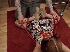 22/11/2016 - encantador BDSM zorra follada analmente aseo duro