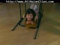 Jav Babe In Bondage Gives Head
