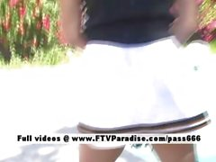 Michelle tender gorgeous busty gymnast