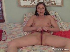 Yanks Brunette Samantha Ryan Big Tease