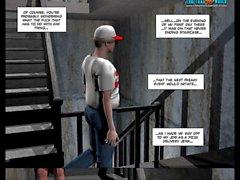 3D Comic: Raymond 4