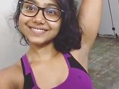 sweet DESI girl showing armpit.mp4