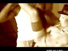 British Hottie Sadie Caine Gets Fucked By Omar On A Stage british euro br